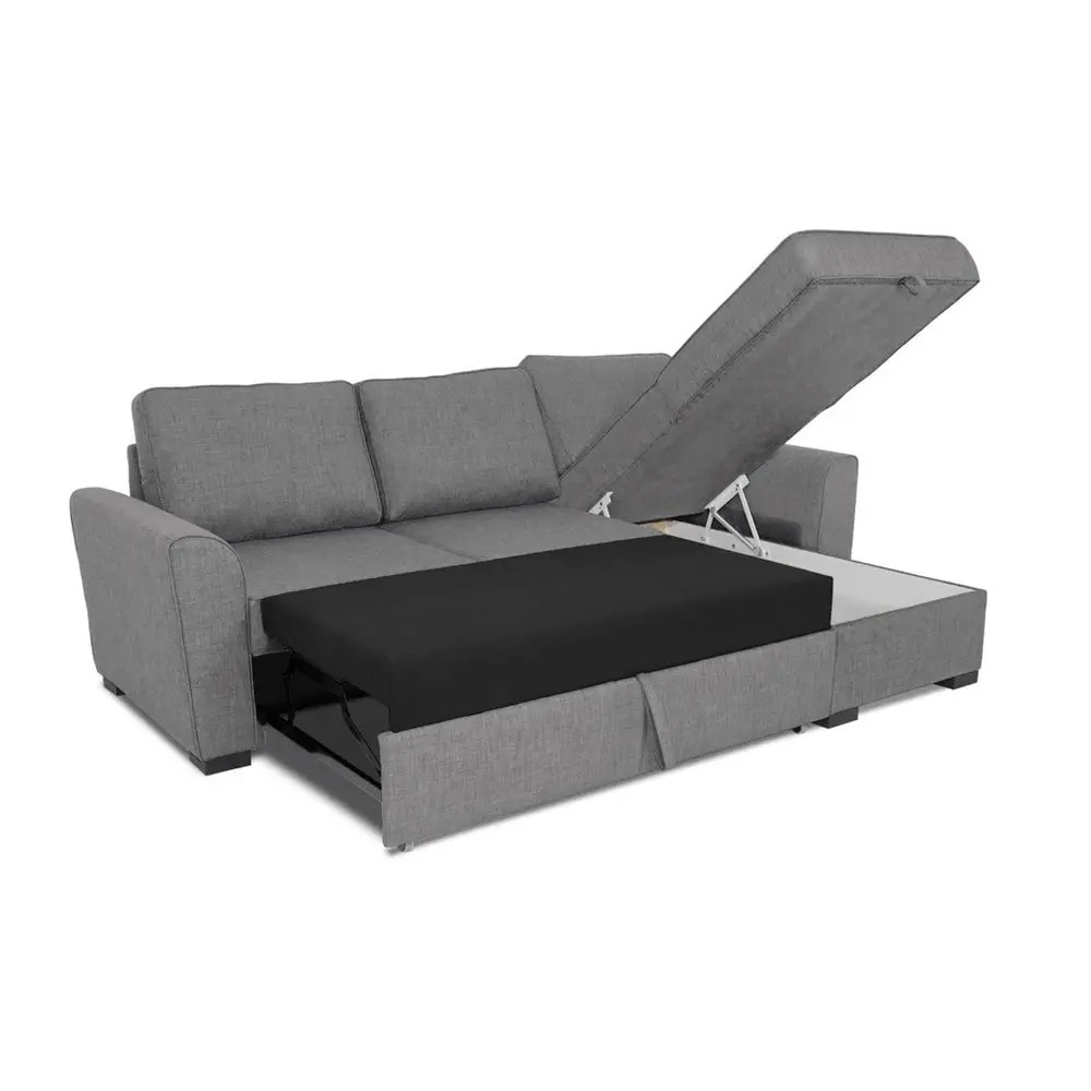 canape d angle convertible 3 4 places gris montreal