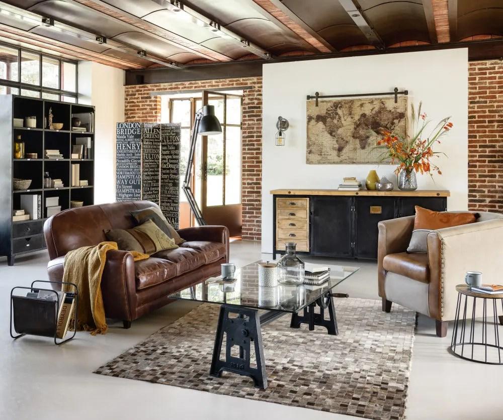 baumwollkissen beige braun 50x50 maisons du monde