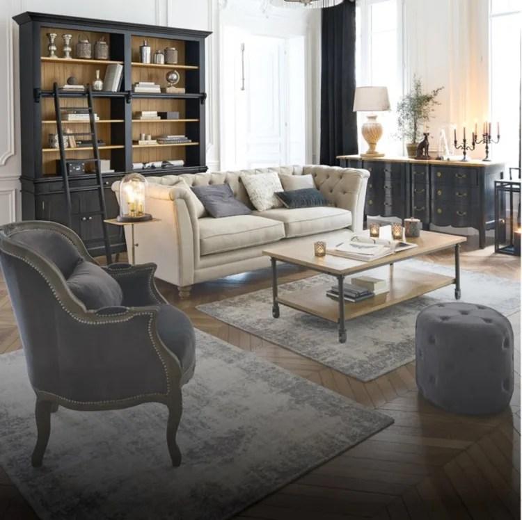 Casa ispirata agli spazi abitativi. Living Room Maisons Du Monde