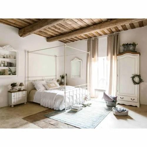 1 door 1 drawer bonnetiere wardrobe in cream maisons du monde