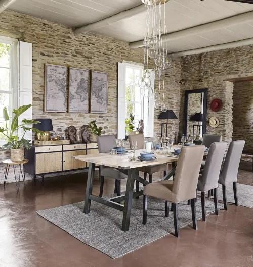 2 chaises a housser en pin teinte wenge maisons du monde