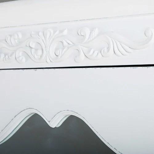 armoire bonnetiere 1 porte 1 tiroir blanc maisons du monde
