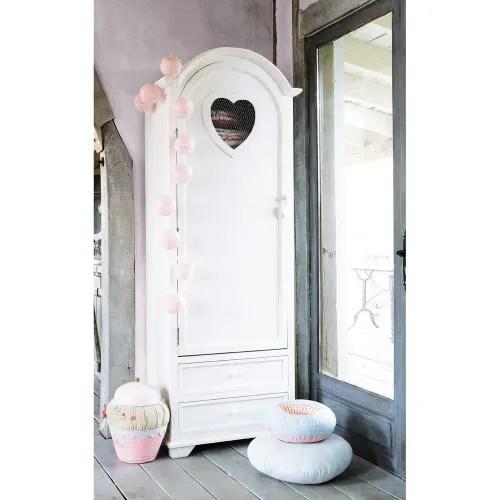 armoire bonnetiere blanche maisons du monde
