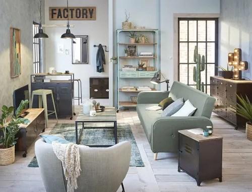 ausziehbares 3 sitzer sofa wassergrun maisons du monde