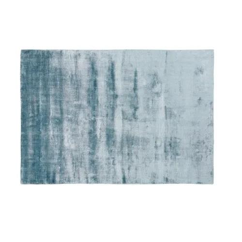 blauer getufteter teppich 140x200 maisons du monde