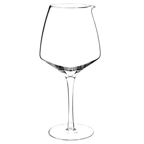 carafe a decanter en verre 1 48l maisons du monde