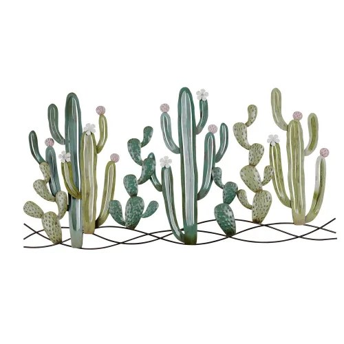 decorazioni a specchio adesive indeed recently has been hunted by users around us, perhaps one of you personally. Decorazione Da Parete Cactus In Metallo 136x68 Cm Atacama Maisons Du Monde