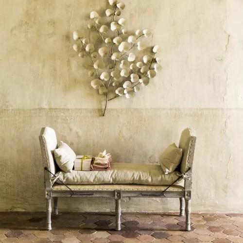 maisons du monde catalogo on line comprende varie categorie. Decorazione Da Parete Foglie In Metallo Dorata 100x120 Cm Albane Maisons Du Monde