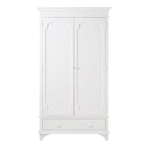 dressing 2 portes blanc casse maisons du monde