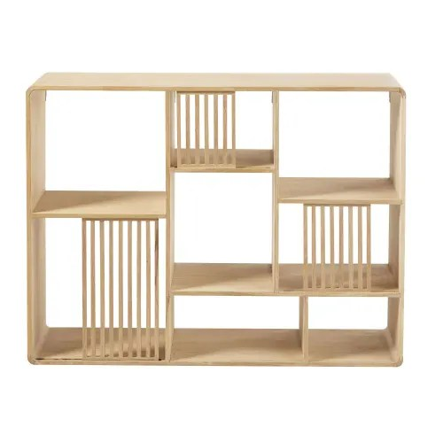 etagere destructuree en chene maisons du monde