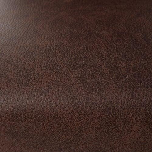 housse de chaise en microsuede marron 41x70 maisons du monde