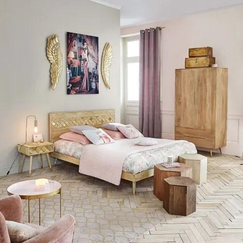 la belle maison du monde. Mango Wood Bed 160 X 200 Salome Maisons Du Monde