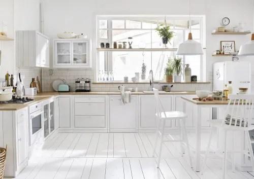 meuble bas de cuisine 2 portes blanc maisons du monde