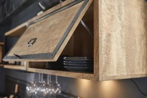 meuble haut de cuisine 1 porte en manguier massif maisons du monde