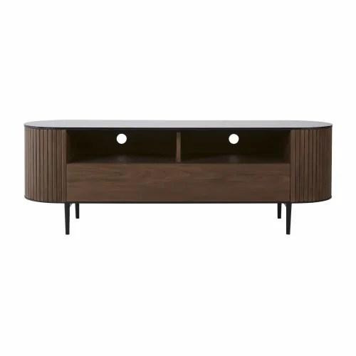 meuble tv vintage 1 tiroir bicolore maisons du monde