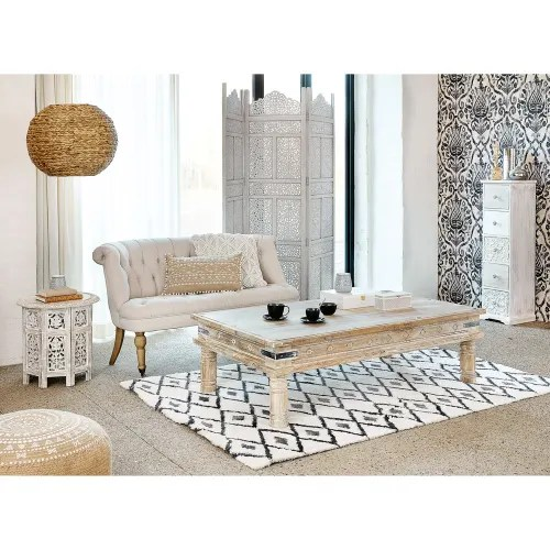 Maisons du monde, a french furniture and home decor company, has reported 3.5 per cent sales decrease to €1182.1 million in its complete. Paravento Sbiancato Udaipur Maisons Du Monde