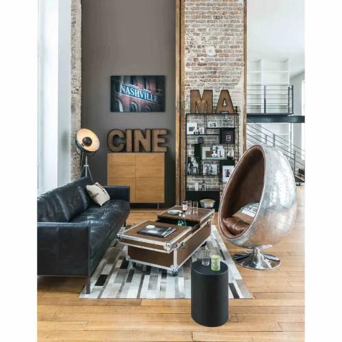 Sfoglia, aggiungi e salva te foto… di sicuro troverai l'ispirazioni. Scaffale Nero In Metallo Simply Maisons Du Monde