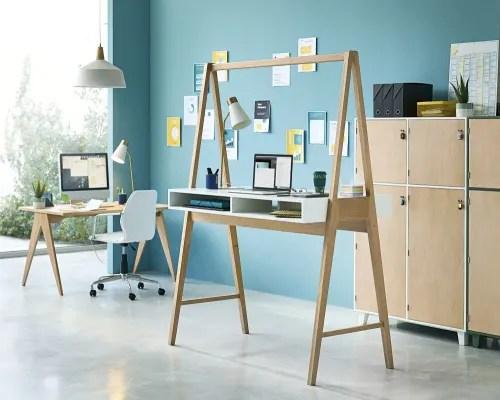 Per questo anche la scrivania deve essere. Sedia Da Ufficio Professionale In Tessuto Spalmato Bianco Jane Business Maisons Du Monde