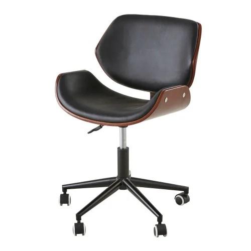 Per le spese di spedizione il costo varietà in base alle unità acquistate, in quanto due sedie possono entrare nel. Sedia Da Ufficio Regolabile Con Ruote In Similpelle Kent Maisons Du Monde