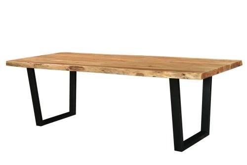 table a manger 8 10 personnes en acacia et metal l240 maisons du monde