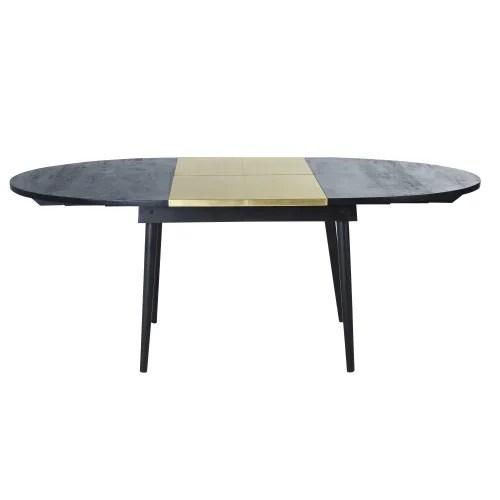 table a manger extensible ovale 6 8 personnes 140 200 maisons du monde