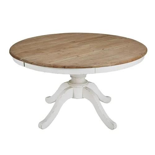 table a manger ronde extensible 6 a 8 personnes l140 190 maisons du monde