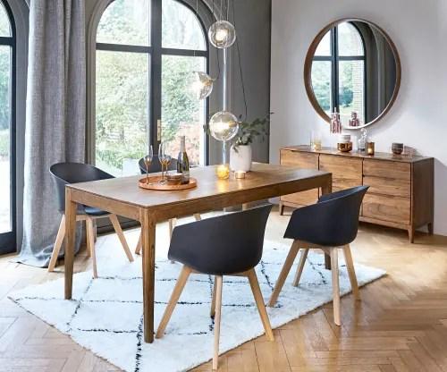 table a manger vintage 6 8 personnes en acacia l180 maisons du monde