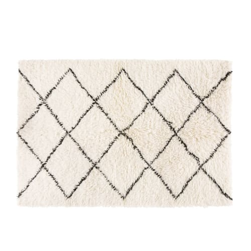 tapis berbere en laine et coton 140x200 maisons du monde