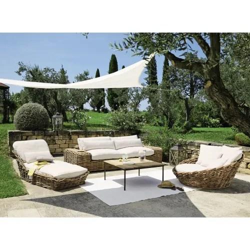 tapis d exterieur en polypropylene blanc 120x180 maisons du monde