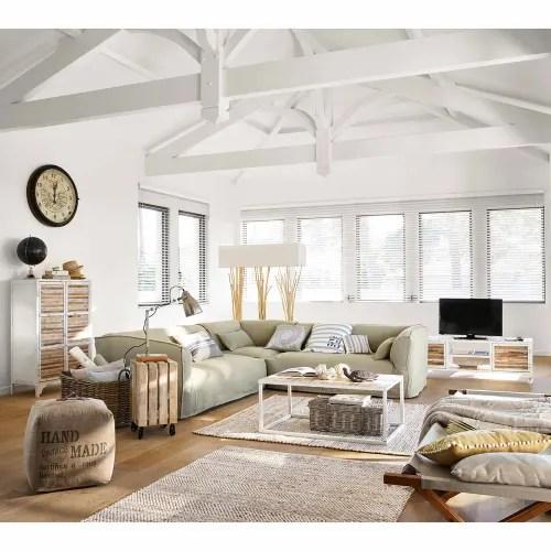 tapis en coton et jute 140x200 maisons du monde