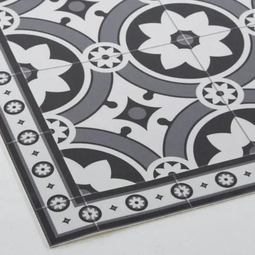 tapis en vinyle motifs carreaux de ciment 100x150 maisons du monde
