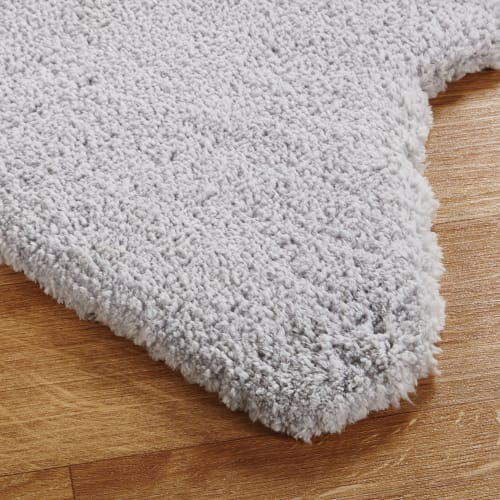 tapis etoile gris 100x100 maisons du monde