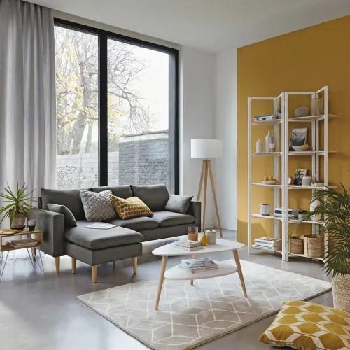 tapis motifs gris et blancs 140x200cm maisons du monde