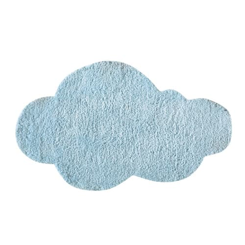tapis nuage tufte bleu 60x100 maisons du monde