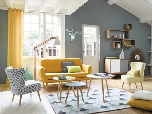 Composte da 4 pezzi 2 rettangolari e 2 quadrati. Vintage Multicoloured Wall Shelves X4 Fjord Maisons Du Monde
