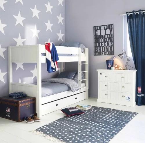 Bonus valid for 14 days. White Bed Drawer 90x190 Newport Maisons Du Monde