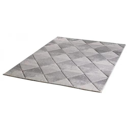 tapis ethnique scandinave en polypropylene blanc 80x150 maisons du monde