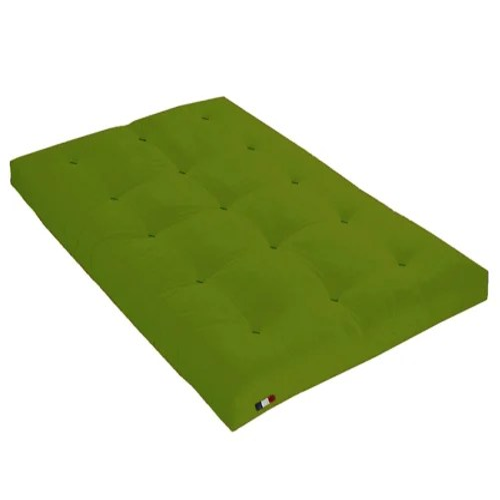 matelas futon latex couleur pistache 140x190 maisons du monde