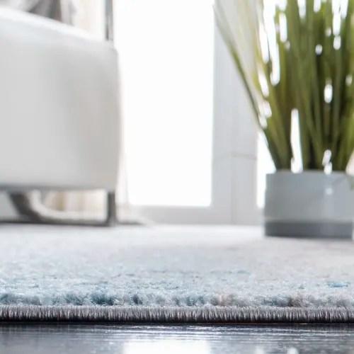 tapis de salon boheme chic gris et bleu 120x180 maisons du monde
