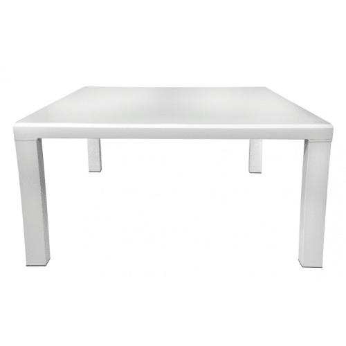 table extensible 120 a 230 cm plateau verre blanc maisons du monde