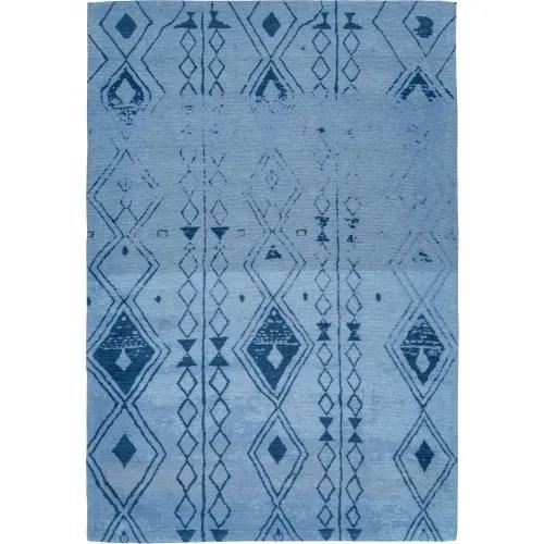 tapis en polyester bleu ciel 240x300 maisons du monde