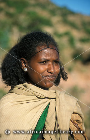 Photos And Pictures Of Tigrean Woman With Traditional