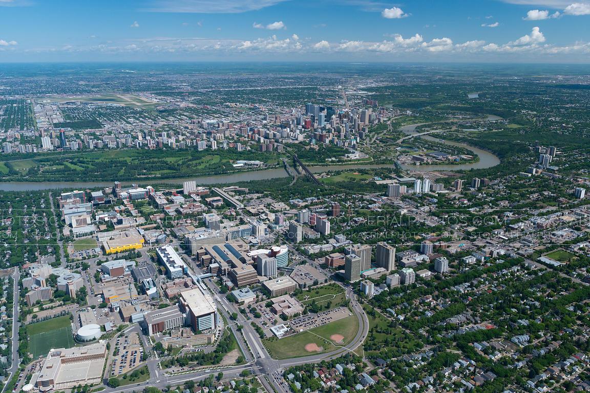 Aerial Photo Edmonton Alberta Aerial Photo