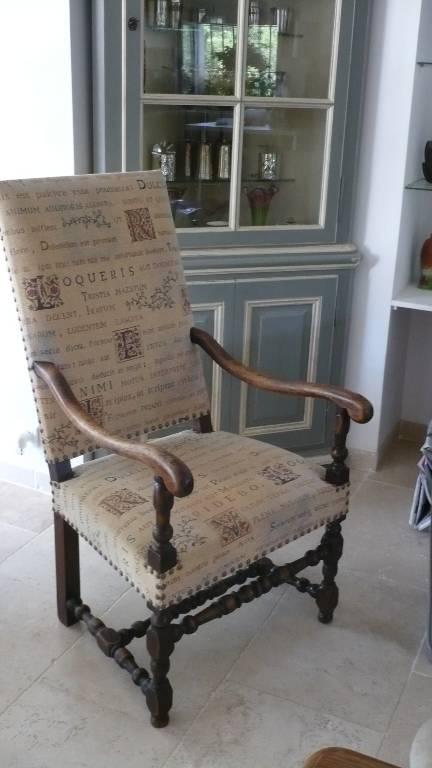 fauteuil epoque louis xiii