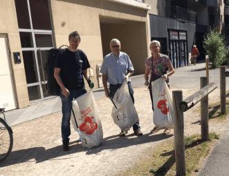 Nettoyage quartier de Gratte Ciel Villeurbanne