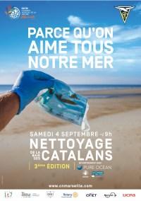 Samedi 4 septembre 2021 : Nettoyage de la baie des Catalans