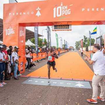 3ème édition 10 km de Port-Gentil : Les coureurs de l'Afrique de l'Est sur le pinacle