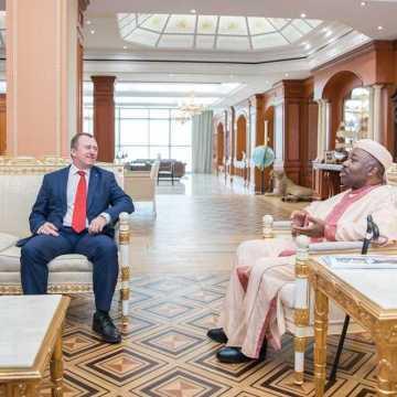 Ce jeudi, Ali Bongo Ondimba a reçu plusieurs ministres et responsables économiques.
