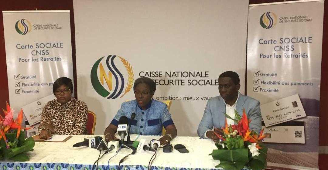 CNSS: Nicole Asselé annonce la mise à disposition mensuelle des retraites !