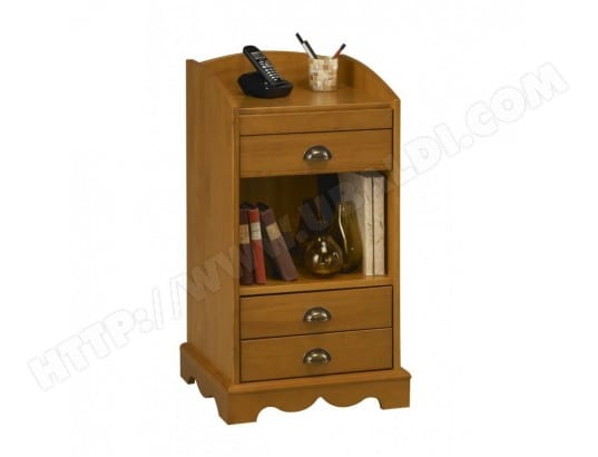 beaux meubles pas chers meuble box meuble telephone meuble d entree pin miel 38004